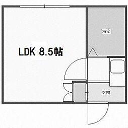 ピアコート前田[305号室]の間取り