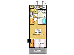 セレニテ甲子園1[5階]の間取り
