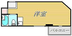 東京都世田谷区砧8丁目の賃貸マンションの間取り