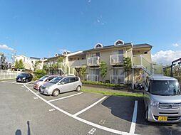 大阪府箕面市半町3丁目の賃貸アパートの外観