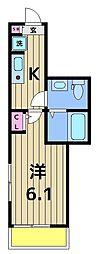 仮称)足立区千住東1丁目共同住宅[301号室]の間取り