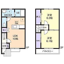 suguru[2階]の間取り