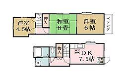 [テラスハウス] 埼玉県草加市新里町 の賃貸【/】の間取り