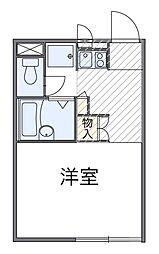 神奈川県厚木市林4丁目の賃貸マンションの間取り