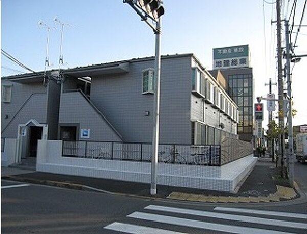 プチクレール北綾瀬B[1階]の外観