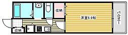 メゾン聖天坂[3階]の間取り