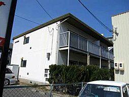広島県広島市安佐北区落合1丁目の賃貸アパートの外観