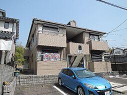 京都府京都市伏見区深草兜山町の賃貸アパートの外観