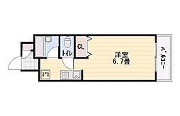 レジデンス小野パート9[5階]の間取り