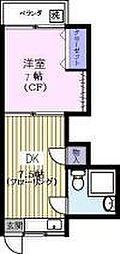 東京セントラル荻窪[405号室]の間取り