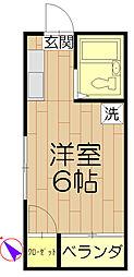 富士ビューティーハイツ[301号室]の間取り
