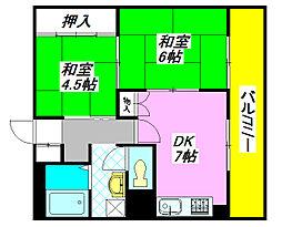 二條ビル 405号室[4階]の間取り