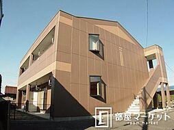 愛知県豊田市下林町2丁目の賃貸アパートの外観