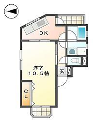 MAマンション[2階]の間取り