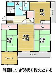 愛知県名古屋市千種区穂波町3丁目の賃貸マンションの間取り