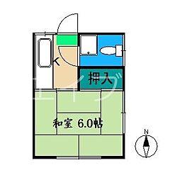 桂荘[1階]の間取り
