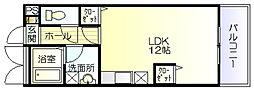 メゾン・ド・エトワール[3階]の間取り