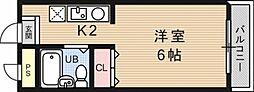 OTOWAマンション[203号室号室]の間取り