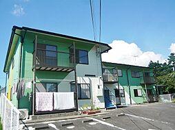 滋賀県蒲生郡日野町大字山本の賃貸アパートの外観
