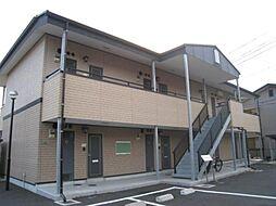 ハピネス〜S・O A棟[1階]の外観