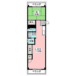 葛岡マンション[2階]の間取り
