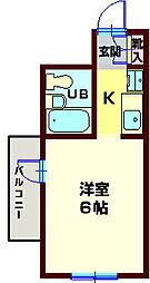 YOKOHAMA TRADITIONAL VIEW[106号室]の間取り