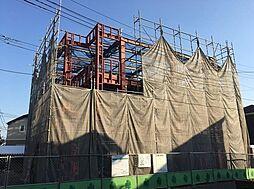 東京都府中市白糸台4丁目の賃貸アパートの外観