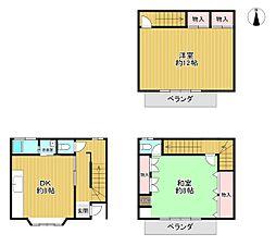 JR東海道・山陽本線 京都駅 徒歩10分 2DKの間取り