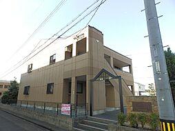 グランドソレイユB棟[2階]の外観