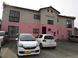 新潟県新潟市西区東青山1丁目の賃貸アパートの外観