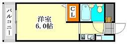 アピス東船橋[316号室]の間取り