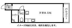京急西広島マンション[614号室]の間取り