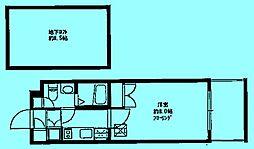 ステージファースト宮崎台[1階]の間取り