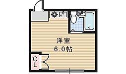 シェトワ阪南[1階]の間取り