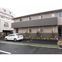 東京都足立区竹の塚3丁目の賃貸アパートの外観