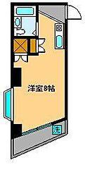 ロイヤルヴィラ[3階]の間取り