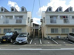 愛知県稲沢市小池3丁目の賃貸アパートの外観
