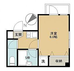 GSSII[202号室号室]の間取り