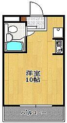 ミナトハイツ[101号室]の間取り