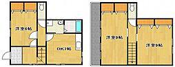 テラスハウス シラカバ[1階]の間取り