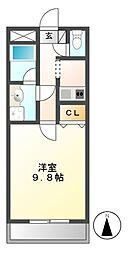 エルムアベニュー藤[2階]の間取り