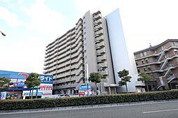 岡山県岡山市北区鹿田本町の賃貸マンションの外観