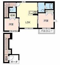 シャーメゾン 宗円堂[2階]の間取り