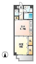 センチュリーパーク新川一番館[11階]の間取り