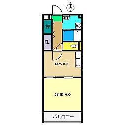 タムラヤマンション[3階]の間取り