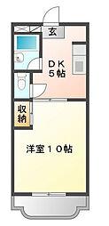 マンションアトラスⅠ[4階]の間取り