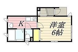 GRANDIR[1階]の間取り