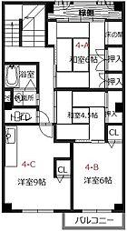 シェアスタイル姫路元町[4-C号室]の間取り