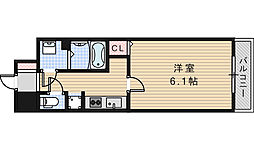 BONNY松崎町[1003号室]の間取り