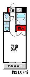 キャンパスシティ太宰府[5階]の間取り